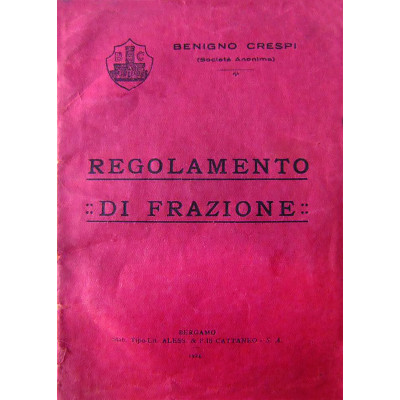 PUBBLICAZIONE Regolamento di Frazione.